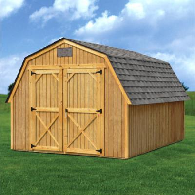 Derksen Buildings treated barn A+ Sheds and Carports San Antonio, Texas