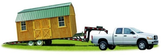 Wharton Portable Buildings, Delivery